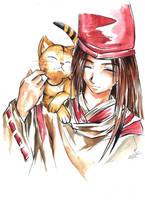 Hao and Matamune by OkamiKiba13