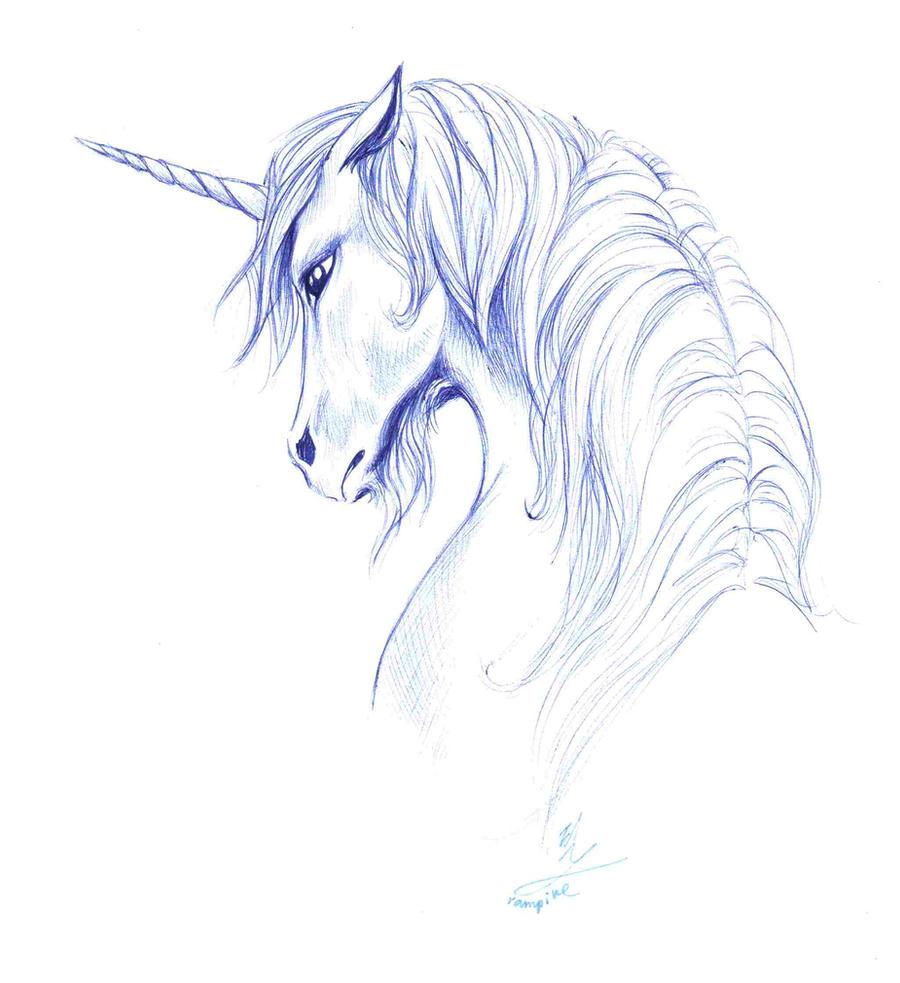 moon unicorn by okamikiba13 on deviantart
