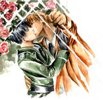 Maiden Rose - Kiss by OkamiKiba13