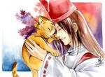 Master Hao and Matamune - smile