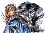Sauron and Carcharoth