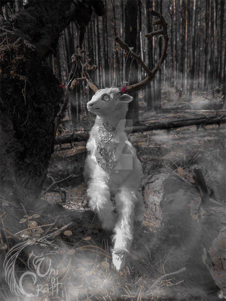 Ghost Deer by OkamiKiba13