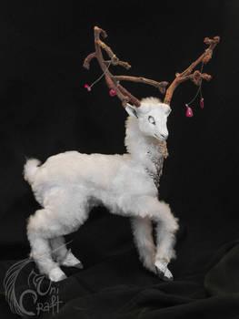 Ghost White Deer
