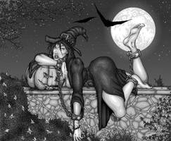 On The Wall - Halloween Edition by TheSoggo