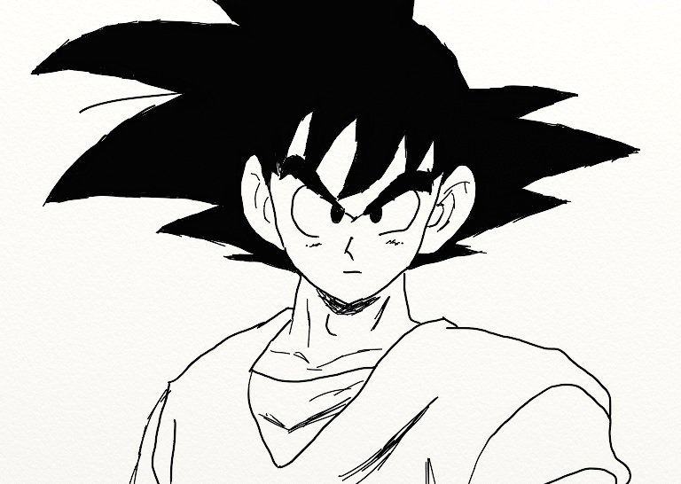 Dragon ball z son goku by traverselight