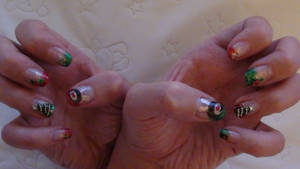 Christmas Nails by EveryonesLawSchool