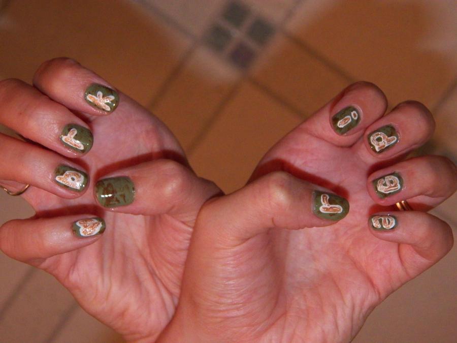 Heartbreak Ridge Trail Half-Marathon Nails by EveryonesLawSchool on ...