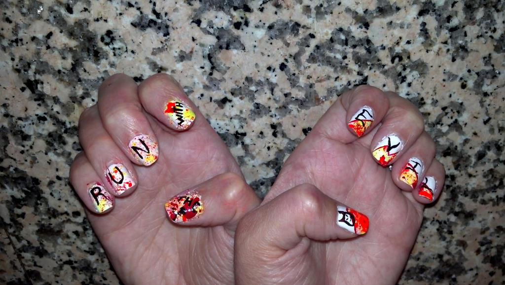 Running With The Devil Marathon Nails by EveryonesLawSchool on ...