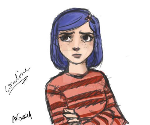 Coraline sketch