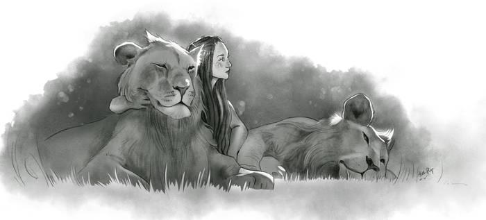 Among Lions