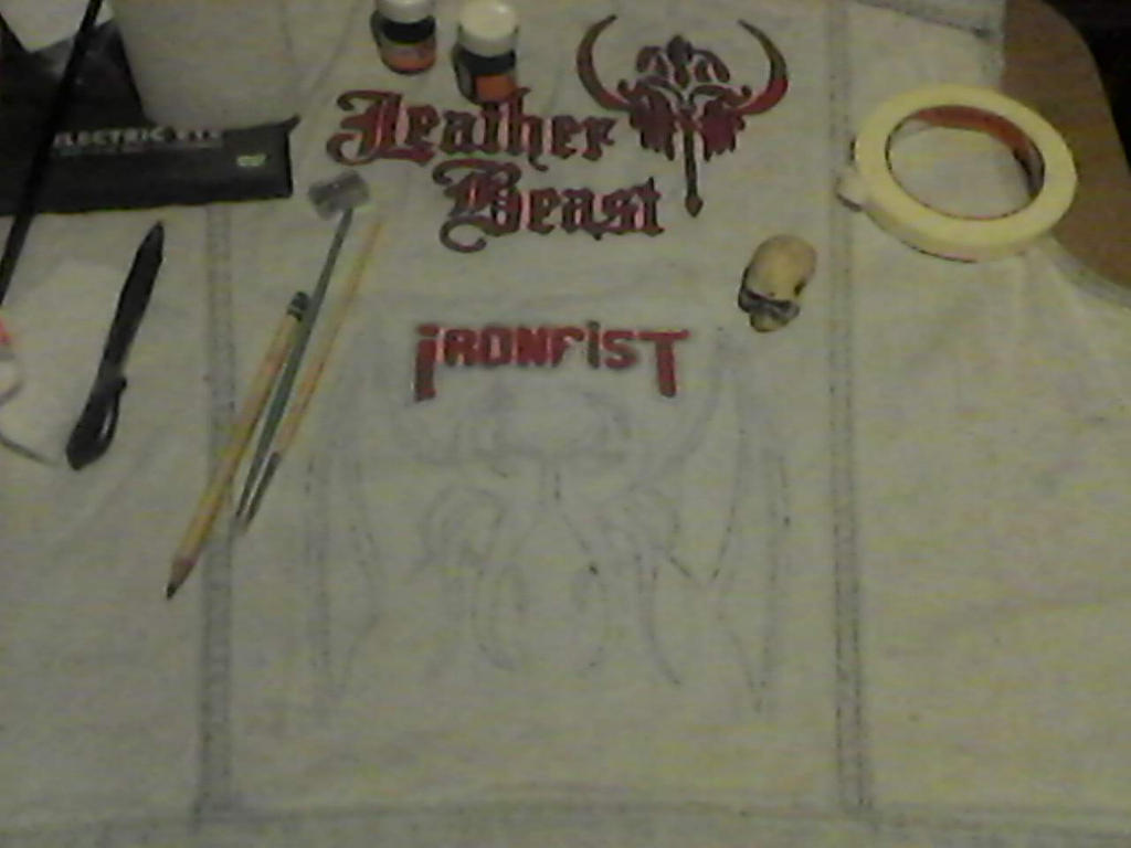 WIP- Battle Vest - Local Metal Bands 8 by Gothicdarkness