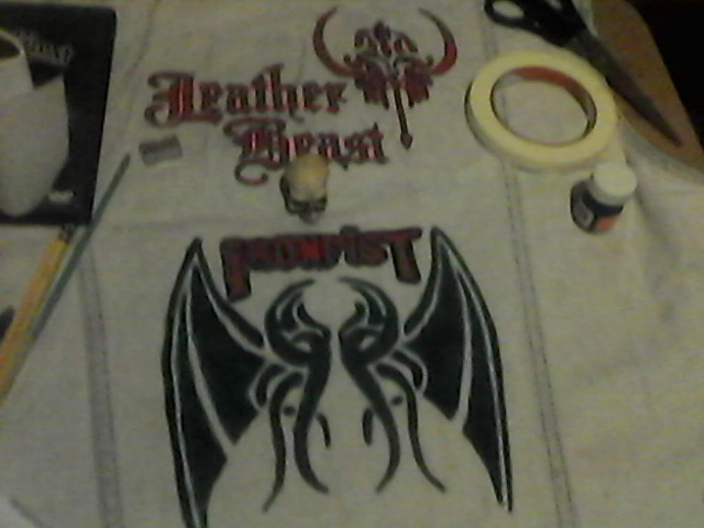 WIP- Battle Vest - Local Metal Bands 10 by Gothicdarkness