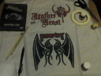WIP- Battle Vest - Local Metal Bands 12 by Gothicdarkness