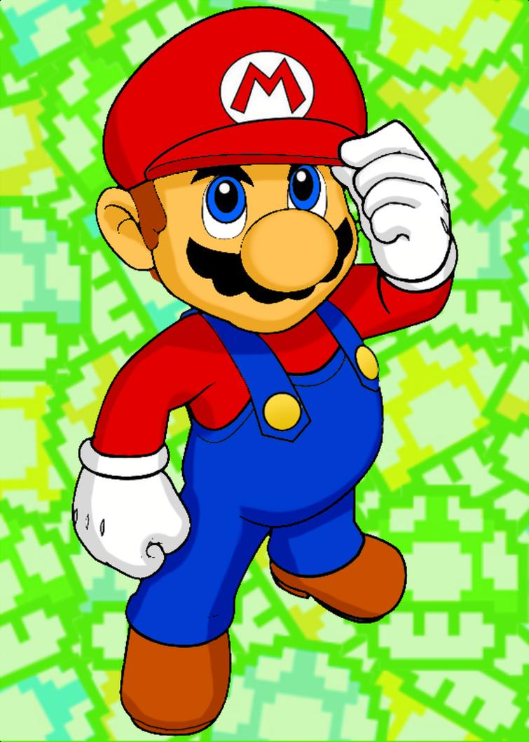 Super Mario by cuddlesnam ...