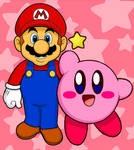 Mario and Kirby