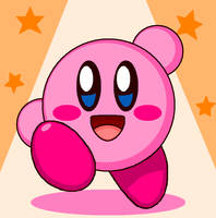 Kirby Icons (BG Orange) by cuddlesnam