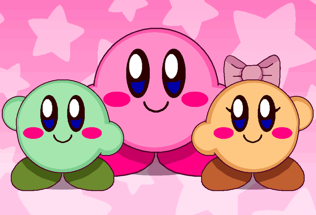 Double kirby and daddy by cuddlesnam on deviantart double kirby and daddy by cuddlesnam voltagebd Gallery