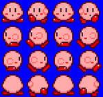 16-Bit Red Kirby Sprites on RPG Maker XP