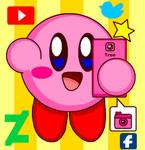 Kirby Get New Smart Phone