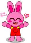 Cute Bunny (Kirby Bunny Happy) by cuddlesnam