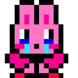 Draw Kirby Bunny In Pixel Studio for Android