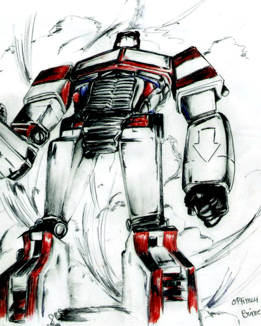 Optimus Prime by ShyGirl0-0
