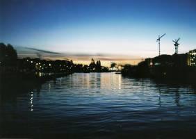 Amsterdam Sunset by BnBattaglia