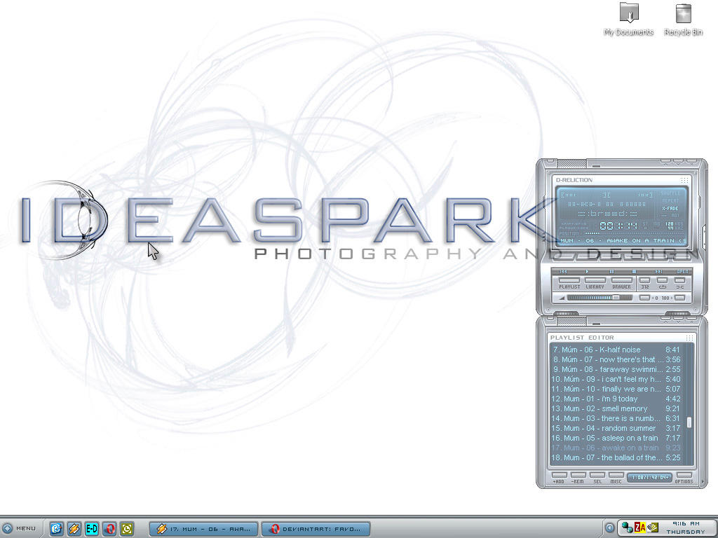 ideaspark desktop by celtic-ronin