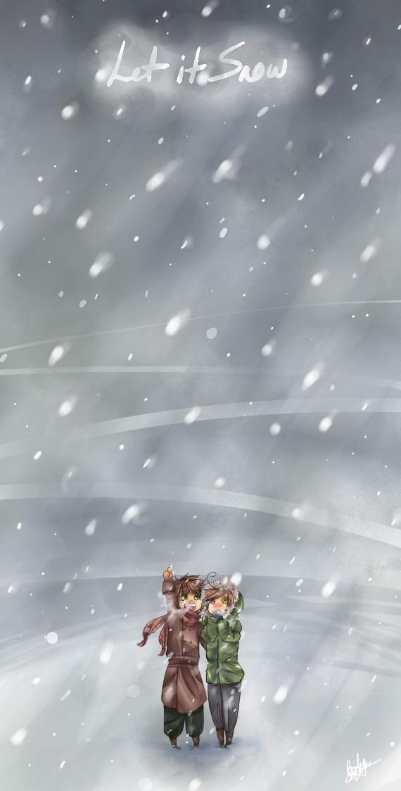 Let It Snow~ by BlackDiamond13