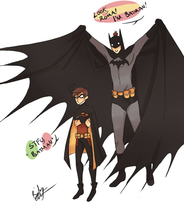 Batman and Robin? by BlackDiamond13
