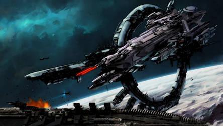Idris Attacks Wallpaper by vk707
