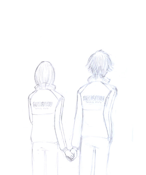 Drawing of Hands Holding Boy And Girl Holding Hands