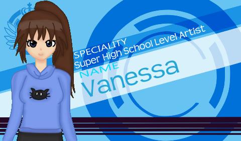 Vanessa danganronpa style by sofushka9