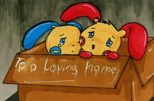 To a loving home by Mondlichtkatze