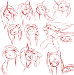 Expression practice -sadness-