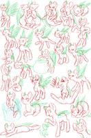 Pony Study 10  by Mondlichtkatze