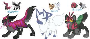 Pokemon Fusion Auctions (closed)