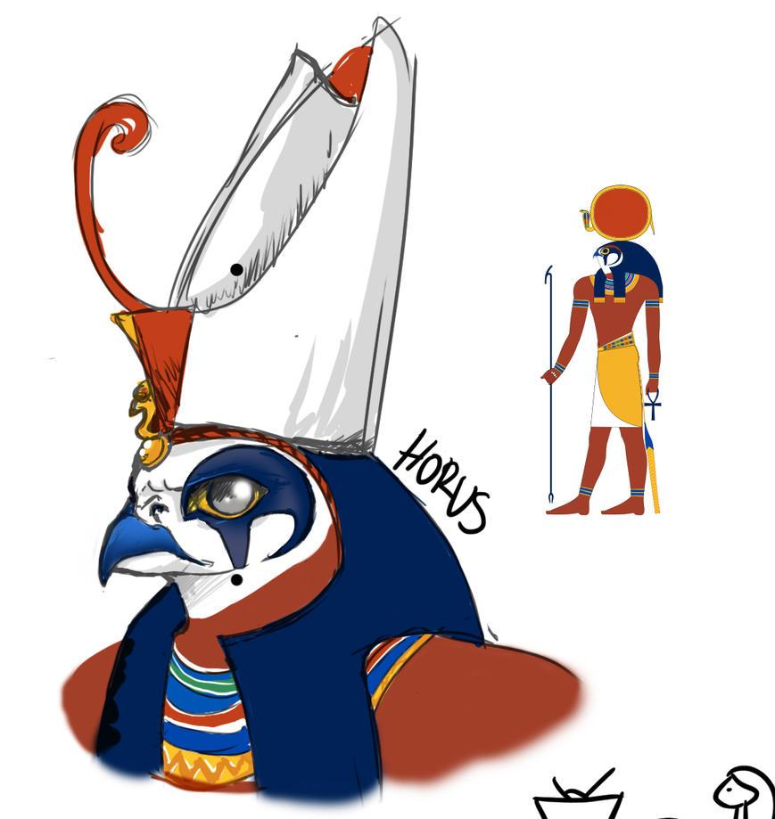 Horus by MsRaggaMuffin
