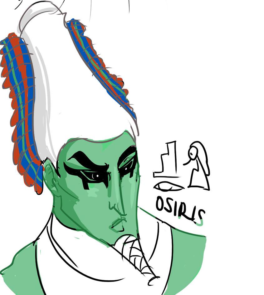 Osiris by MsRaggaMuffin