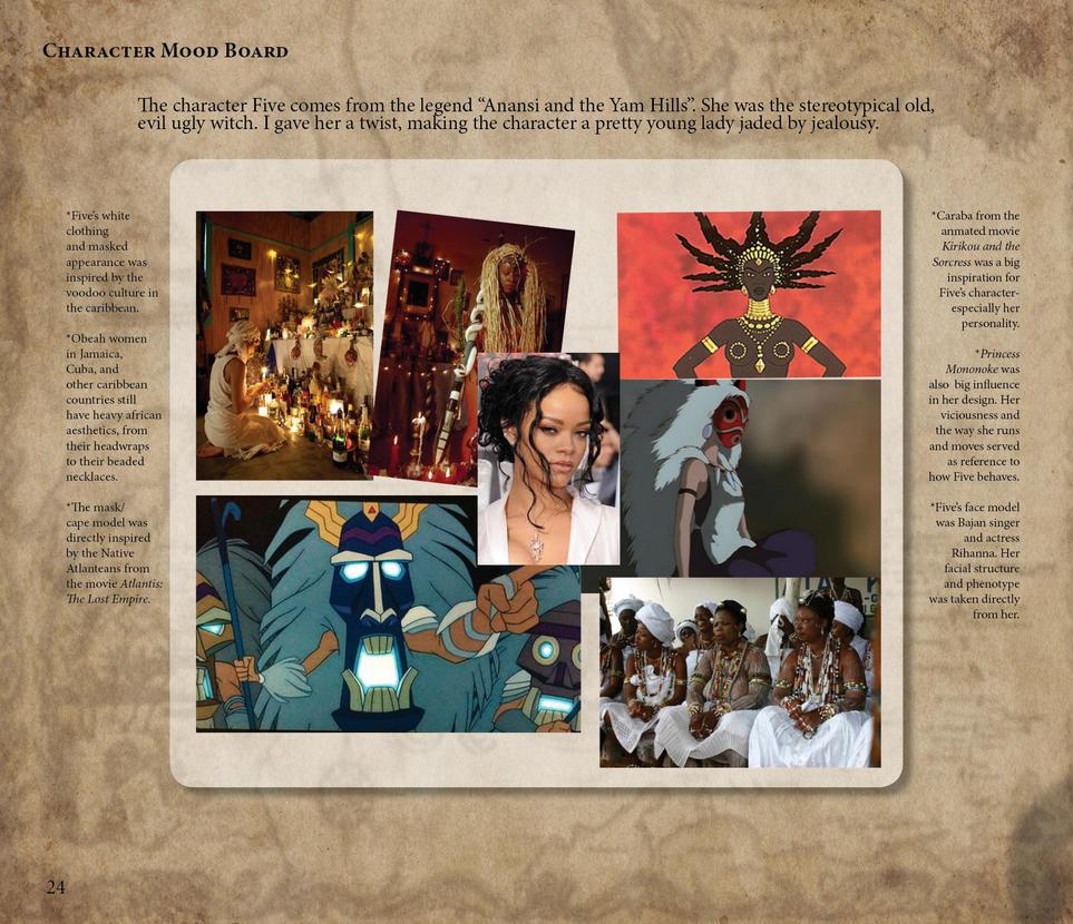 Obeah- Anansi's Curse Art Book print24 by MsRaggaMuffin