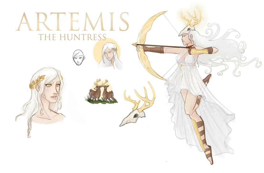 Artemis by MsRaggaMuffin
