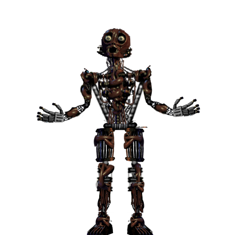 F Naf Spring Trap Endoskeleton Pictures To Pin On