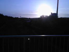 sunset by munikiki