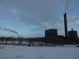 winter landscapes pollution 2