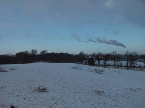 winter landscapes pollution 3