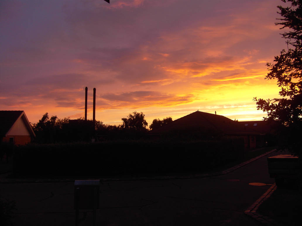 sunsets again by munikiki