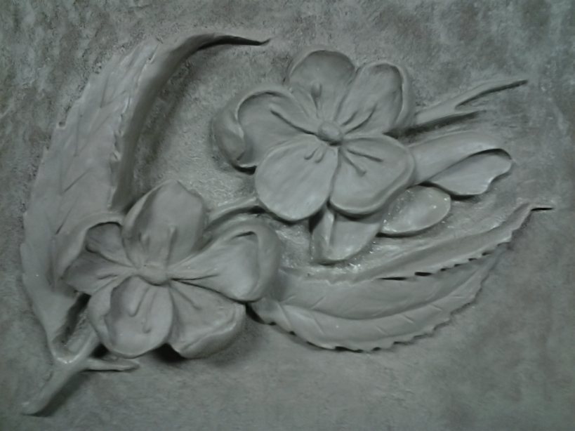 Bas relief flowers by shadowxsiegfried on deviantart