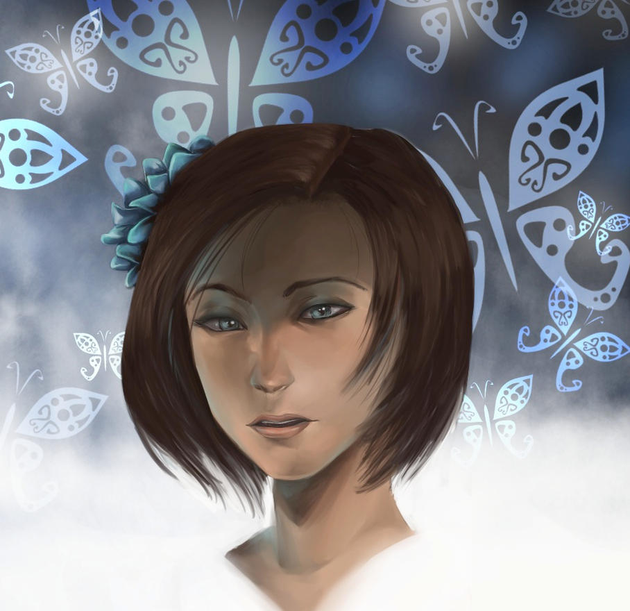 Jill in Onimusha by ShadowxSiegfried