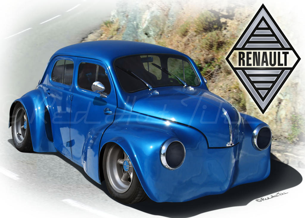 4cv Proto By Red Hot Tiki By Redhottiki On Deviantart