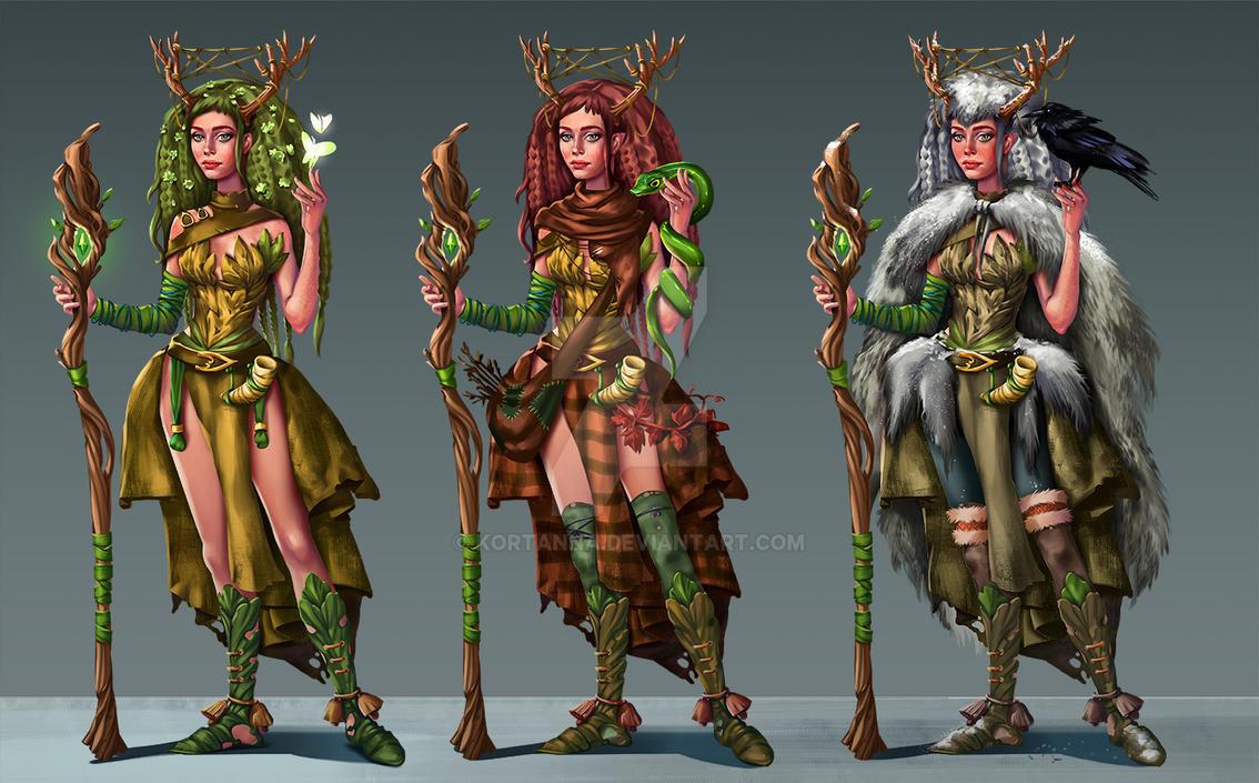 druid women